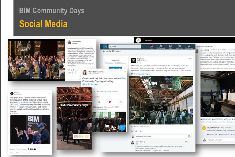 Implenia BIM Community Days